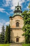 murowana dzwonnica kościelna