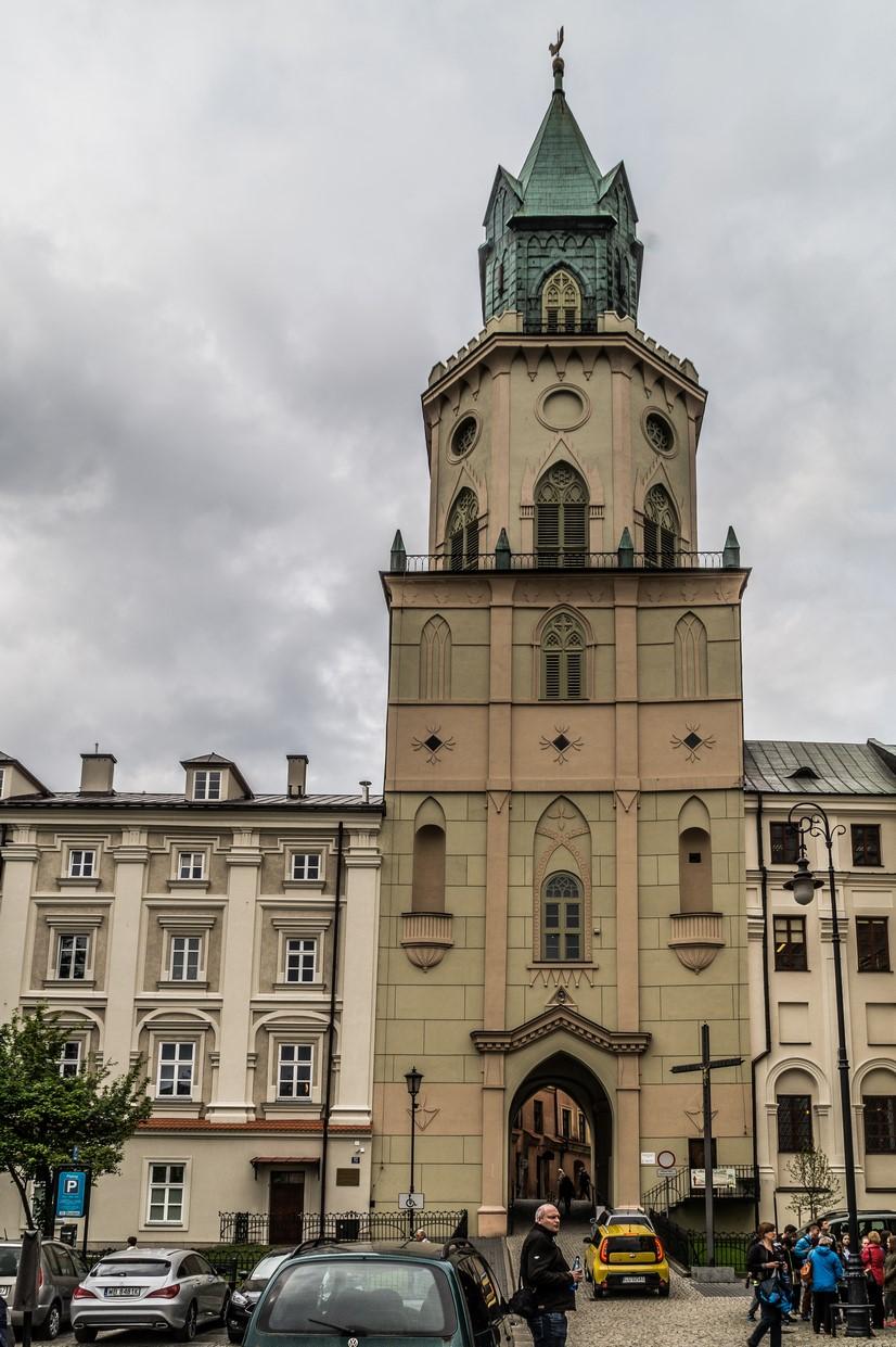 Lublin - Wieża Trynitarska