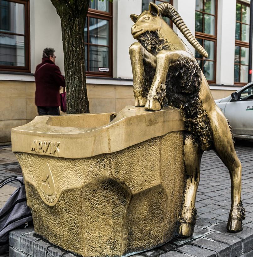 Symbol Lublina koziołek