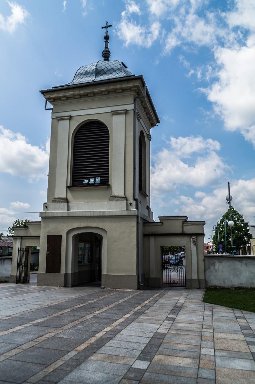 Chmielnik - kościół z XVIII wieku