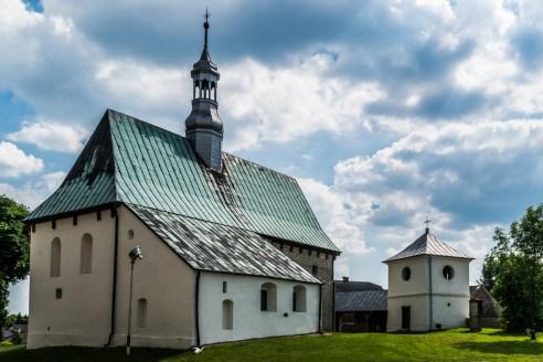 Sulisławice - kościół z XIII wieku