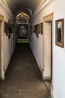 Zamość - korytarze w podcieniach