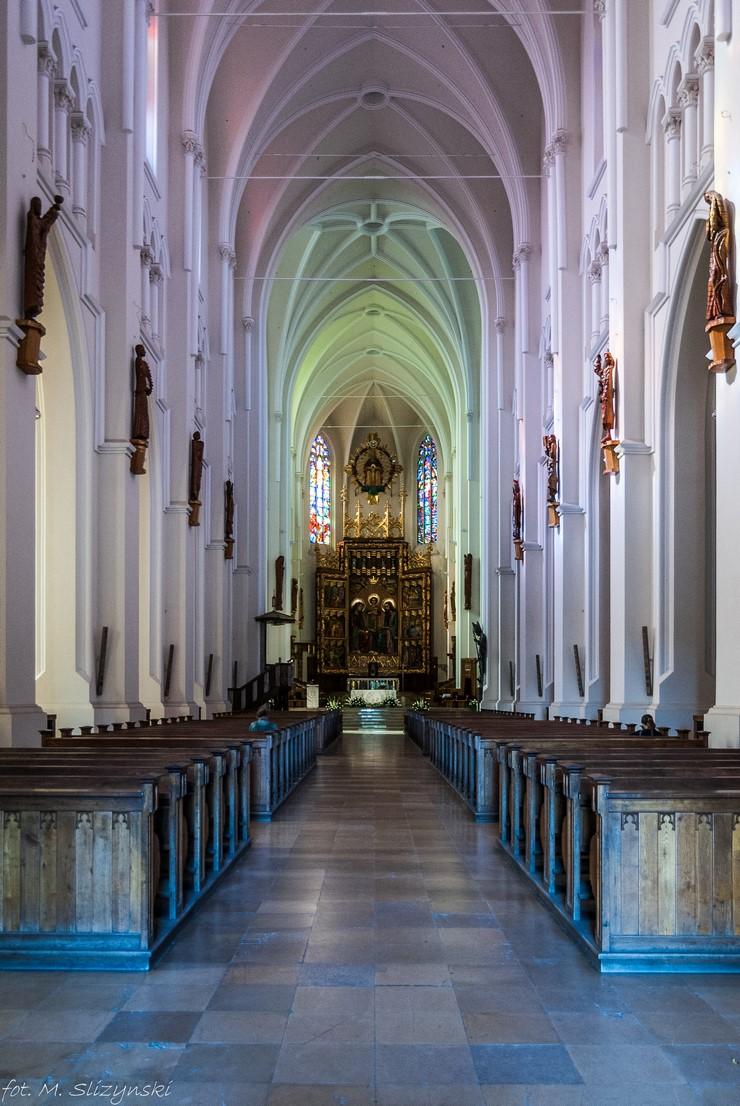 częstochowa - bazylika ołtarz główny