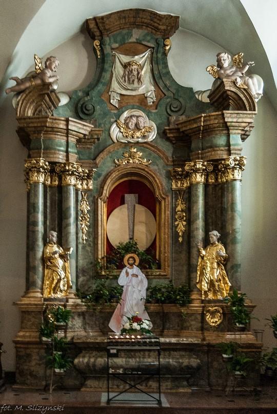 częstochowa - Kościół św. Zygmunta ołtarz
