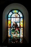 Częstochowa - piękne witraże w kościele św. Zygmunta
