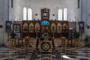 Częstochowa - ołtarz w Cerkwi
