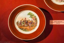 malowany ręcznie talerz