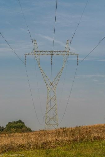 Góry Świętokrzyskie - chcecie mieć prąd to takie widoki też muszą być