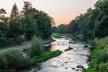 Cieszyn - Olza, rzeka graniczna