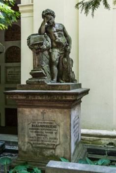 stare powązki - grób baranowski