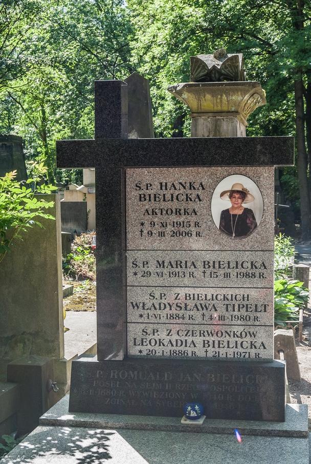 Powązki - Hanka Bielicka