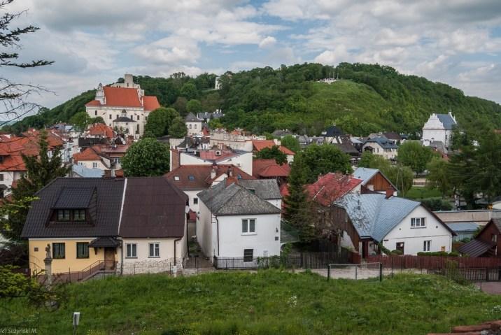 Kazimierz Dolny - widok na Wzgórze Trzech Krzyży
