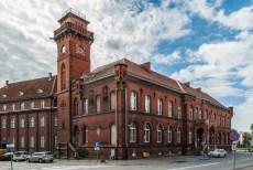 atrakcje malborka - poczta polska budynek