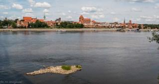 Toruń - nadbrzeże Wisły