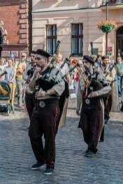 Toruń - orkiestra na Rynku