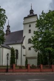 Kościół pod wezwaniem Ścięcia Świętego Jana Chrzciciela budynek - baranów sandomierski