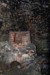 wnętrze pieca garncarskiego w iłży