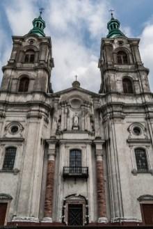 fronton kościoła piekoszów