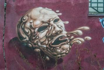 żywiec - graffiti maska