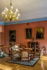 żywiec - muzeum miejskie stary zamek pokój habsburgów różowy