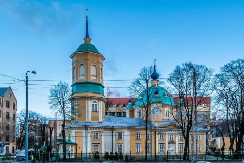 Moskiewskie Przedmieście w Rydze - świątynie