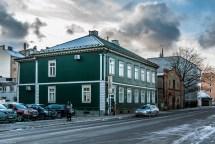 Moskiewskie Przedmieście w Rydze - ulice