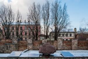 Moskiewskie Przedmieście w Rydze - pomniki