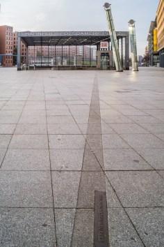 Centrum Berlina - Mur Berliński