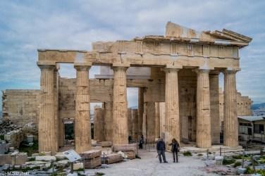 Propyleje - atrakcje Akropolu