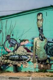 Ateny - sztuka uliczna