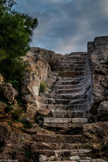 Ateny - Wzgórze Aresa