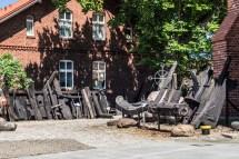 półwysep helski - Muzeum Rybołówstwa wystawa zewnętrzna