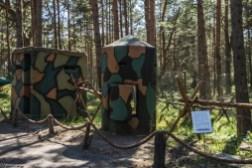 półwysep helski - Muzeum Obrony Wybrzeża budki