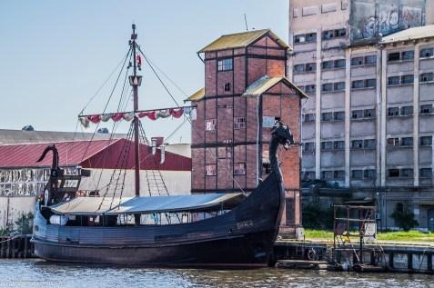 statek wikingów ustka