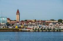 półwysep helski - port rybacki widok władysławowo