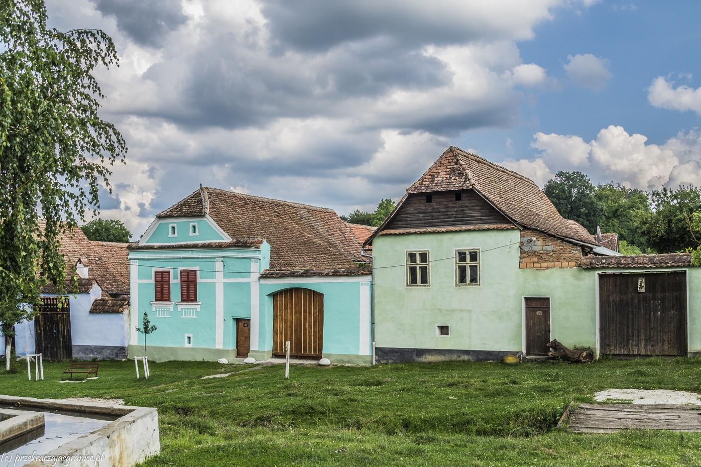 kościoły warowne - viscri zielone domy