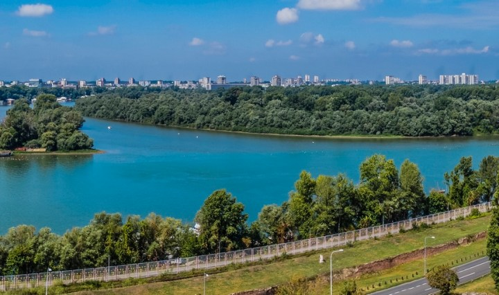 Kalemegdan panorama Belgradu - belgrad w jeden dzień