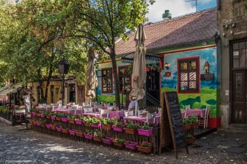 ulica Skadarska - belgrad w jeden dzień