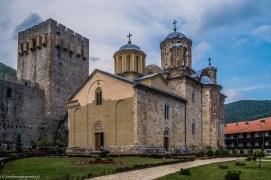Klasztor Manasija budynek