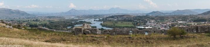 twierdza rozafa panorama szkodra albania