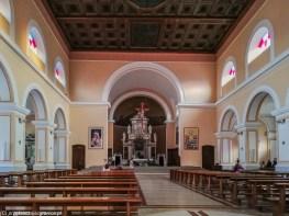 Kościół Franciszkanów wnętrze szkodra