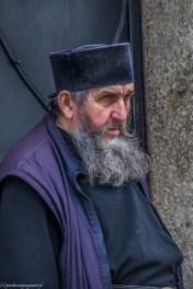 Klasztor Krusedola mnich - serbia