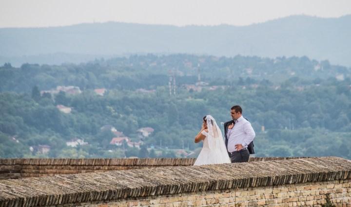 twierdza petrovaradin sesja małżeńska - serbia
