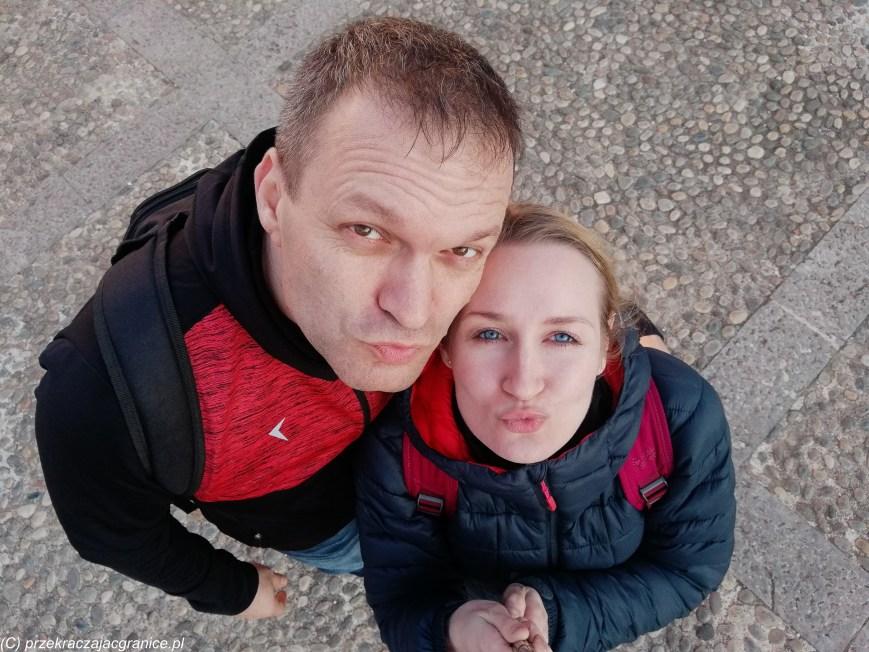 Renia i Mikołaj - twórcy bloga Przekraczając Granice - a więc my