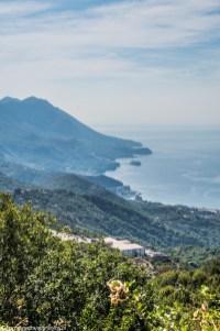 Panorama w Górach Lovcen