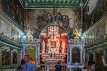 Kościół Matki Bożej na Skale wnętrze czarnogóra