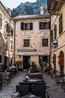 restauracja ulice kotor