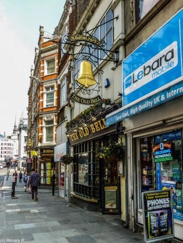 pub angielski londyn