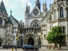 Royal Courts of Justice londyn