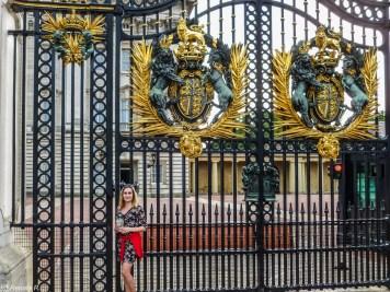 Pałac Buckingham londyn - spacer wzdłuż tamizy